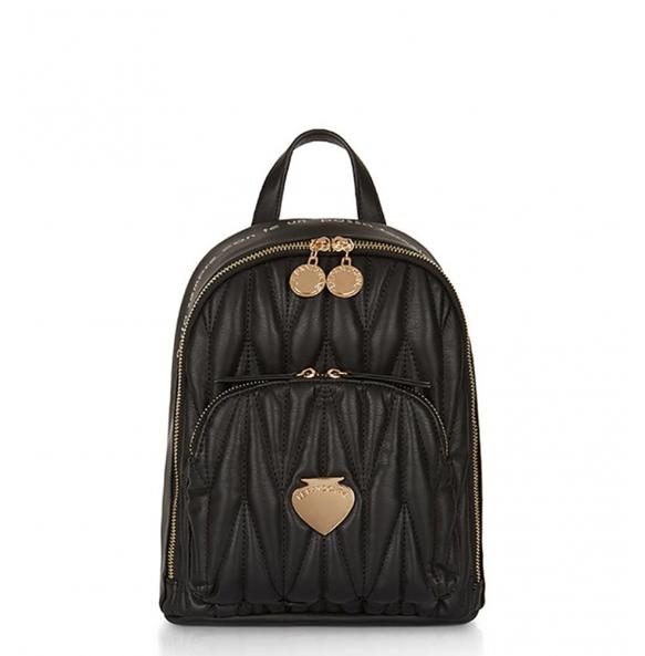 Σακίδιο πλάτης Le Pandorine AI21DBK02888 Mini Backpack Μαύρο