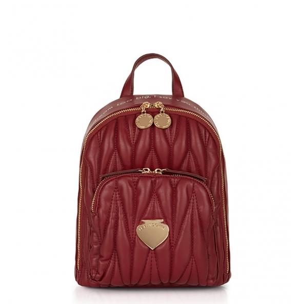 Σακίδιο πλάτης Le Pandorine AI21DBK02888 Mini Backpack Μπορντό