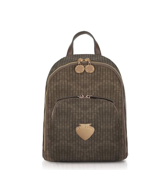 Σακίδιο πλάτης Le Pandorine AI21DBK02888 Mini Backpack Καφέ