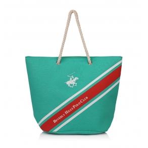 Τσάντα Θαλάσσης BEVERLY HILLS POLO CLUB BH-1681 Πράσινο