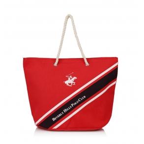 Τσάντα Θαλάσσης BEVERLY HILLS POLO CLUB BH-1681 Κόκκινο