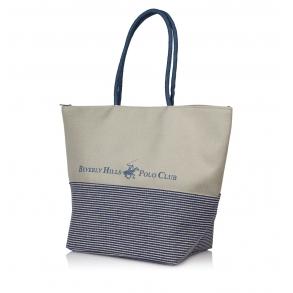 Τσάντα Θαλάσσης BEVERLY HILLS POLO CLUB BH-2122 Μπλε