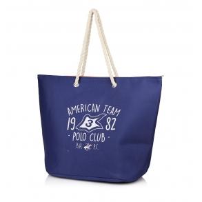 Τσάντα Θαλάσσης BEVERLY HILLS POLO CLUB BH-2501 Μπλε