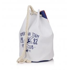 Τσάντα Θαλάσσης BEVERLY HILLS POLO CLUB BH-2502 Λευκό