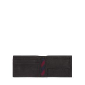 Πορτοφόλι TOMMY HILFIGER Johnson Mini 0662 Μαύρο