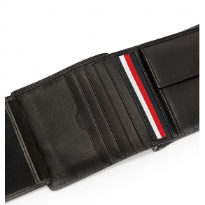 Πορτοφόλι TOMMY HILFIGER 7627 TH Commuter Μαύρο