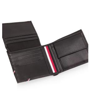 Πορτοφόλι TOMMY HILFIGER 7819 Downtown Μαύρο