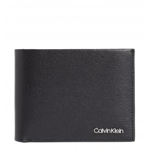 Πορτοφόλι CALVIN KLEIN 7394 Minimalism Trifold Μαύρο