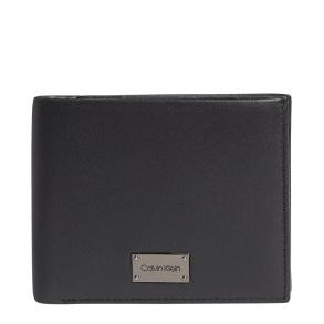 Πορτοφόλι CALVIN KLEIN 7403 Lux Plaque Bifold   Μαύρο