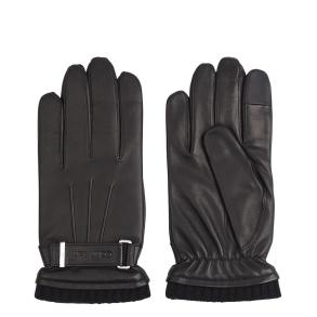 Δερμάτινα γάντια CALVIN KLEIN 7425 Μαύρο