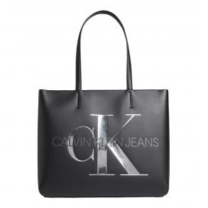 Τσάντα CALVIN KLEIN K60K608378 Μαύρο
