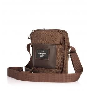 Τσάντα PEPE JEANS Bomber 7645022 Καφέ