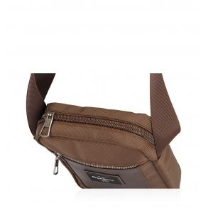 Τσάντα PEPE JEANS Bomber 7645222 Καφέ