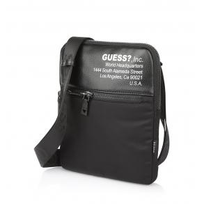 Τσάντα GUESS Scala HMMSM1P1123 Μαύρο