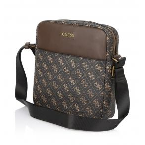 Τσάντα GUESS Vezzola HMVEZLP1226 Σκούρο Καφέ
