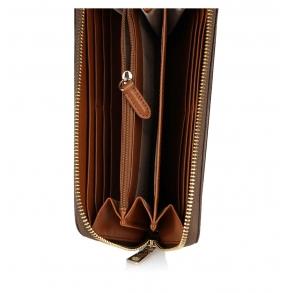 Πορτοφόλι DKNY R831J658 Καφέ
