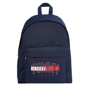 Σακίδιο TOMMY HILFIGER 7506 TJ Campus Logo Μπλε