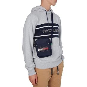 Τσάντα TOMMY HILFIGER 7507 TJM Campus Logo Rreporter Μπλε