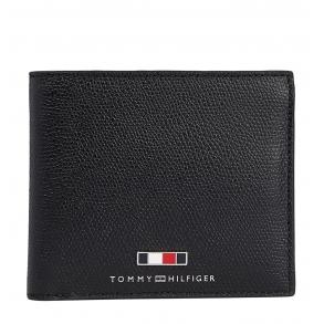 Πορτοφόλι TOMMY HILFIGER 7618 TH Business Μαύρο