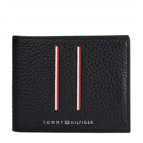 Πορτοφόλι TOMMY HILFIGER Mini 7631 TH Downtown Μαύρο
