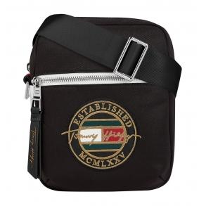 Τσάντα TOMMY HILFIGER 7750 TH Signature Μαύρο