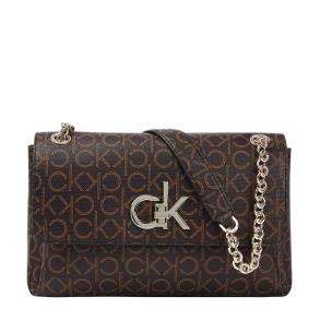 Τσάντα CALVIN KLEIN K60K608318 Καφέ