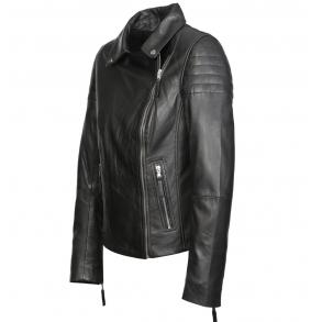 Δερμάτινο μπουφάν LISA Μαύρο