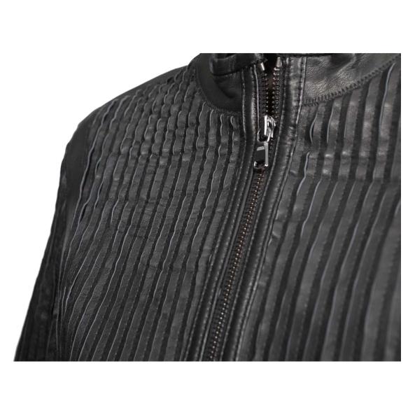 Δερμάτινο μπουφάν POET Μαύρο