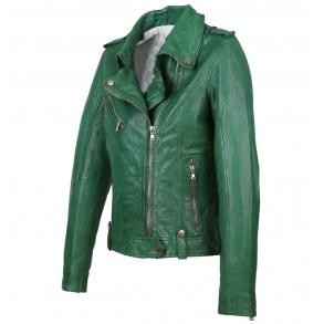 Δερμάτινο μπουφάν PRINCESS Πράσινο