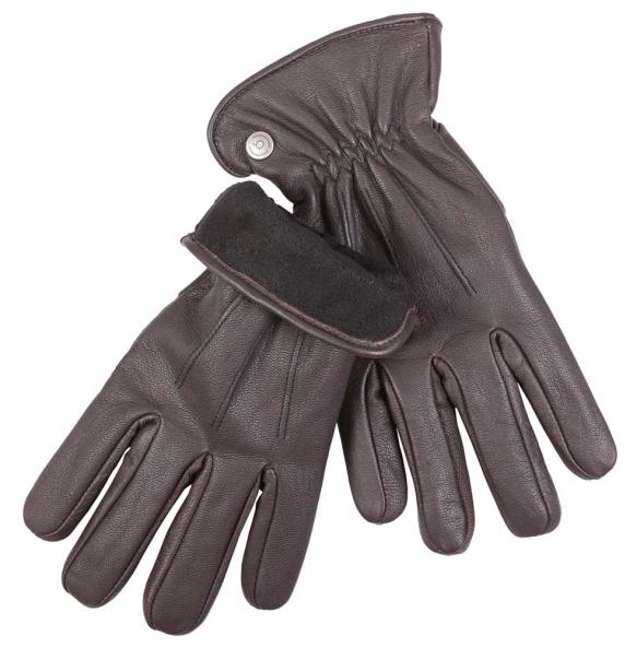 δερμάτινα γάντια Bugatti 21110 Καφέ