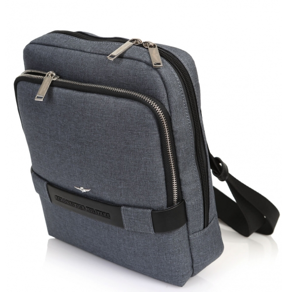 Τσάντα AERONAUTICA MILITARE AM-321 Γκρι