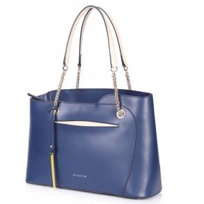 Τσάντα Cromia 1403435 Μπλε