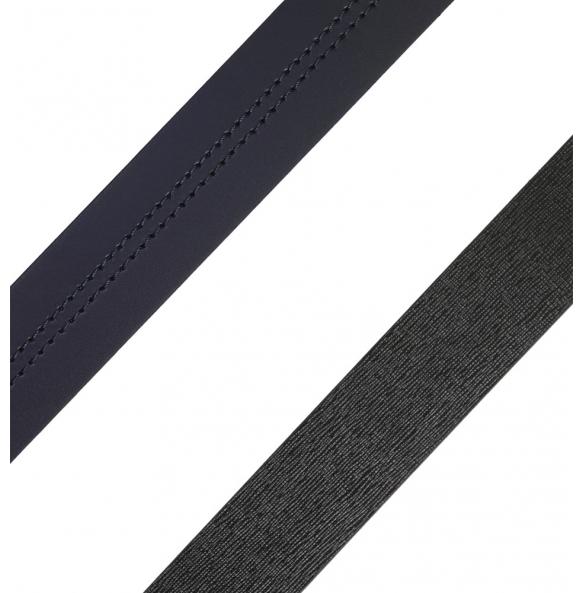 Ζώνη TRUSSARDI JEANS 71L00080-9Y099999 Διπλής Όψεως Μπλε - Μαύρο