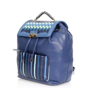 Σακίδιο Trussardi 75B00204 Μπλε