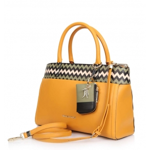 Τσάντα Trussardi 75B00284 Κίτρινο