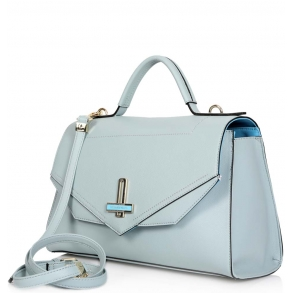 Τσάντα Trussardi 75B00300 Γαλάζιο