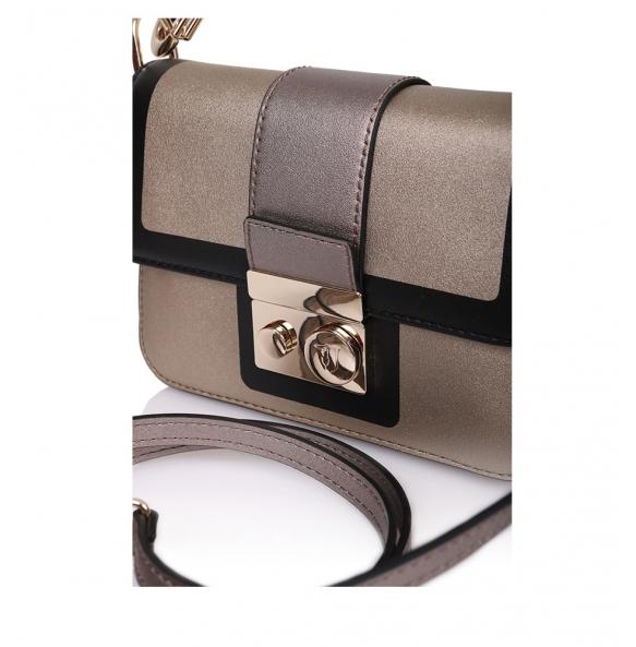 Τσάντα TRUSSARDI JEANS 75B00563 Χρυσό