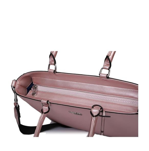 Τσάντα TRUSSARDI JEANS 75B00670 Ροζ