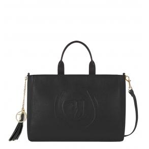 Τσάντα TRUSSARDI JEANS 75B00843 Μαύρο