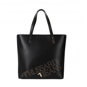 Τσάντα TRUSSARDI JEANS 75B00893 Μαύρο