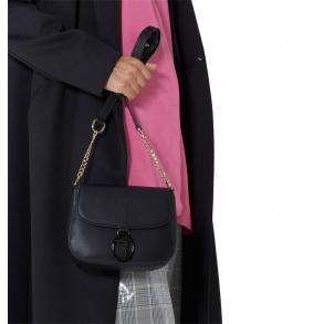 Τσάντα TRUSSARDI 75B00958 Μαύρο