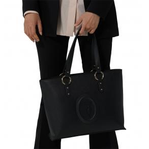 Τσάντα TRUSSARDI 75B00961 Μαύρο
