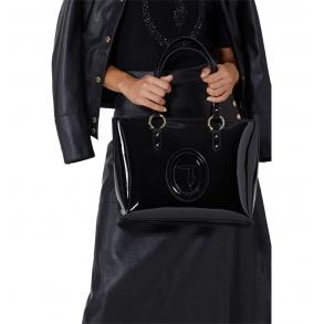 Τσάντα TRUSSARDI 75B00961 Μαύρο Λουστρίν