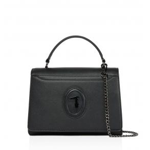 Τσάντα TRUSSARDI 75B01129 Μαύρο