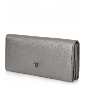 Πορτοφόλι Trussardi Jeans 75W00100 Ασημί
