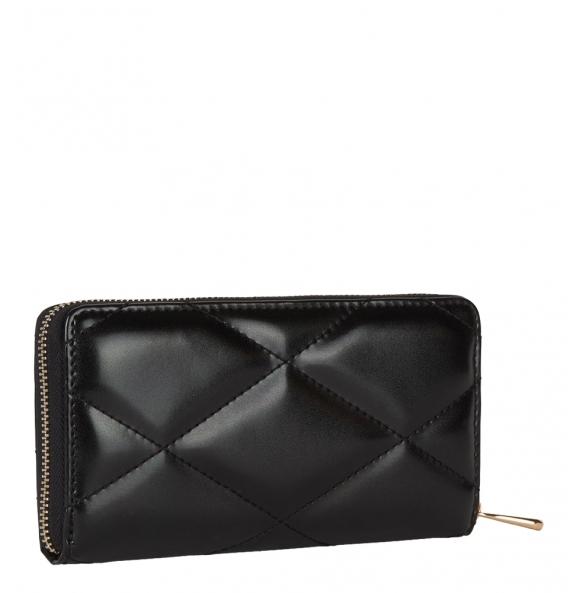 Πορτοφόλι TRUSSARDI JEANS 75W00152 Μαύρο Καπιτονέ