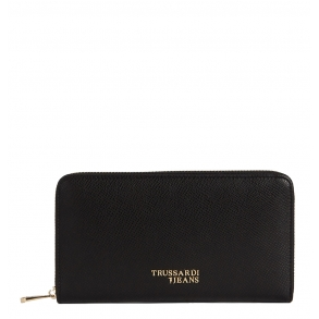 Πορτοφόλι TRUSSARDI JEANS 75W00152 Μαύρο