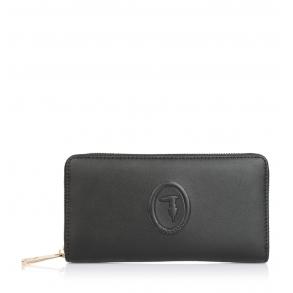 Πορτοφόλι TRUSSARDI JEANS 75W00246 Μαύρο
