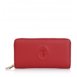 Πορτοφόλι TRUSSARDI JEANS 75W00246 Κόκκινο