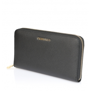 Πορτοφόλι TRUSSARDI JEANS 75W00248 Μαύρο